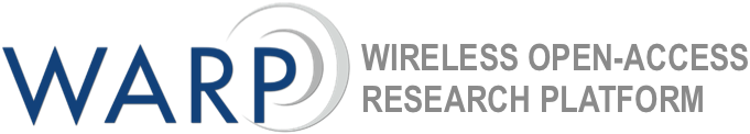 WARP Project - Wireless Open-Access Research Platform